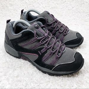 Merrell Purple and Black Hiking Shoes